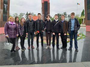 La complexul memorial Eternitate